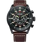 CITIZEN 星辰 光動能計時手錶-44mm(CA4218-14E)