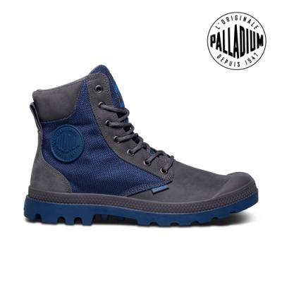 PALLADIUM PAMPA SPORT CUFF WPN防水靴-中性款-灰/牛仔藍
