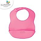 美國 Summer Infant 可攜式防水學習圍兜-粉紅
