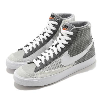 Nike 休閒鞋 Blazer Mid 77 運動 男鞋 經典款 復古 簡約 球鞋 穿搭 拼接 灰 白 DD1162001