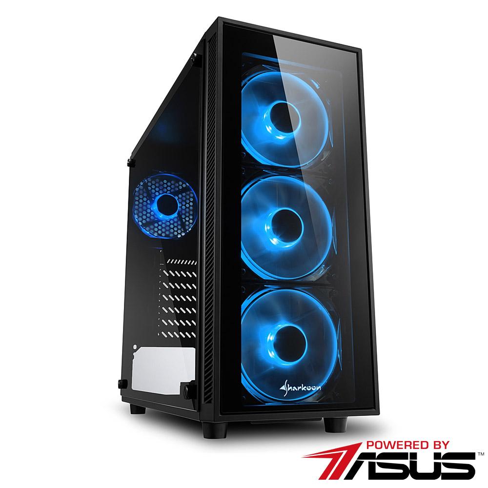 華碩B365平台 [魔火烈士]i5六核RTX2070獨顯SSD電玩機