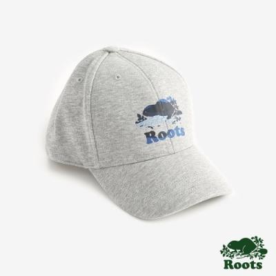 ROOTS配件 風景海狸棒球帽-灰