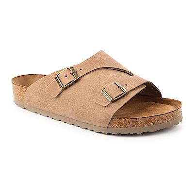 勃肯BIRKENSTOCK  1008909 。ZURICH大面拖鞋(淡米褐色)