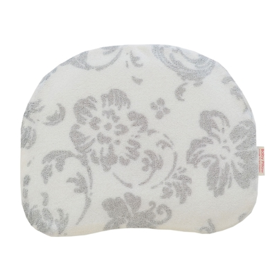 MAKURA【Baby Pillow】透氣兩用嬰兒靠枕-花朵灰