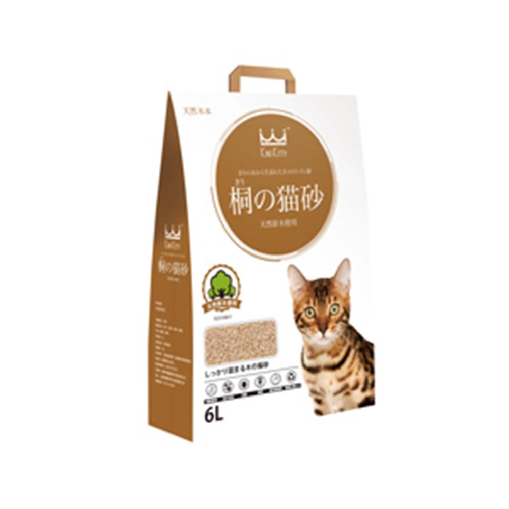 時時樂 國王貓砂 桐木砂6L(四種味道選擇)-原味
