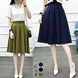 【韓國K.W.】獨家款浪漫滿點美感裙-3色