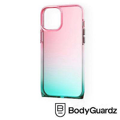 美國 BodyGuardz iPhone 12 / 12 Pro Harmony 和諧曲線軍規殼 - 紅綠漸層