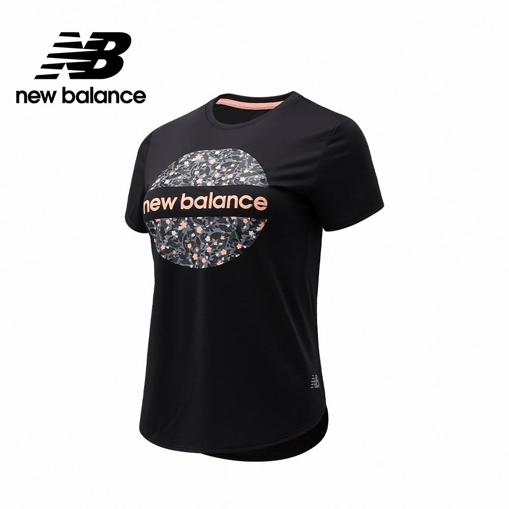 【New Balance】Dry短袖T_女款_黑色_AWT1106YBK