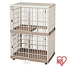 IRIS 日本 移動式 精緻塑鋼雙層貓籠(IR-812)