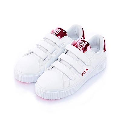 FILA BOLD SHINY女潮流復古鞋-鎂豔桃5-C601S-900