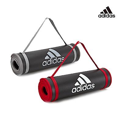 [時時樂限定]Adidas 專業加厚運動墊10mm(共2色)