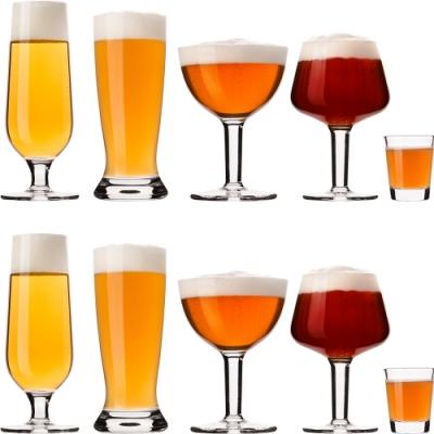 《VACU VIN》專業評測+啤酒杯5對
