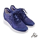 A.S.O 機能休閒 亮眼魅力潮流質地內增高休閒鞋-紫藍 product thumbnail 1