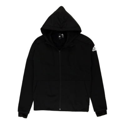 ADIDAS M ID CH STA FZ 男 連帽外套  黑色