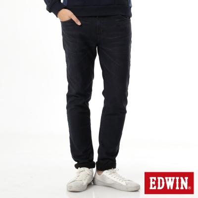 EDWIN 迦績褲JERSEYS貼合內裏保溫直筒褲-男-酵洗藍