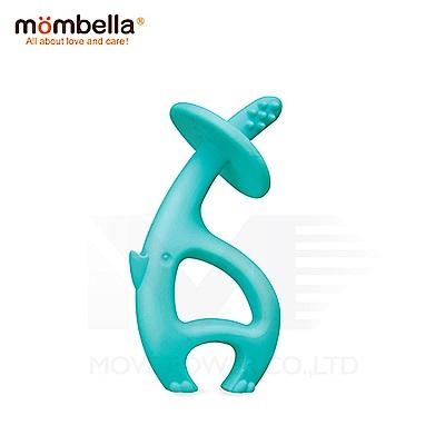 【任選】英國《mombella 》跳舞象固齒器(藍色)