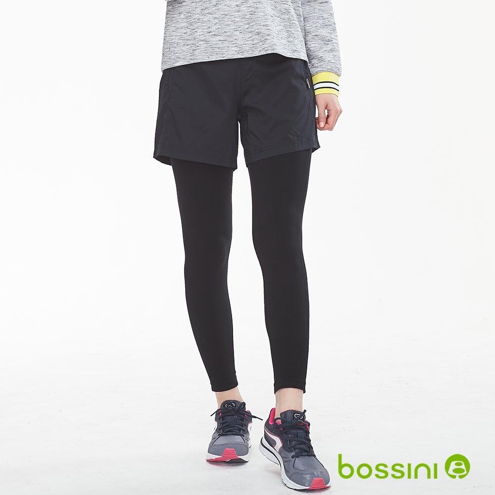 bossini女裝-速乾針織貼身褲02黑 (不含短褲)