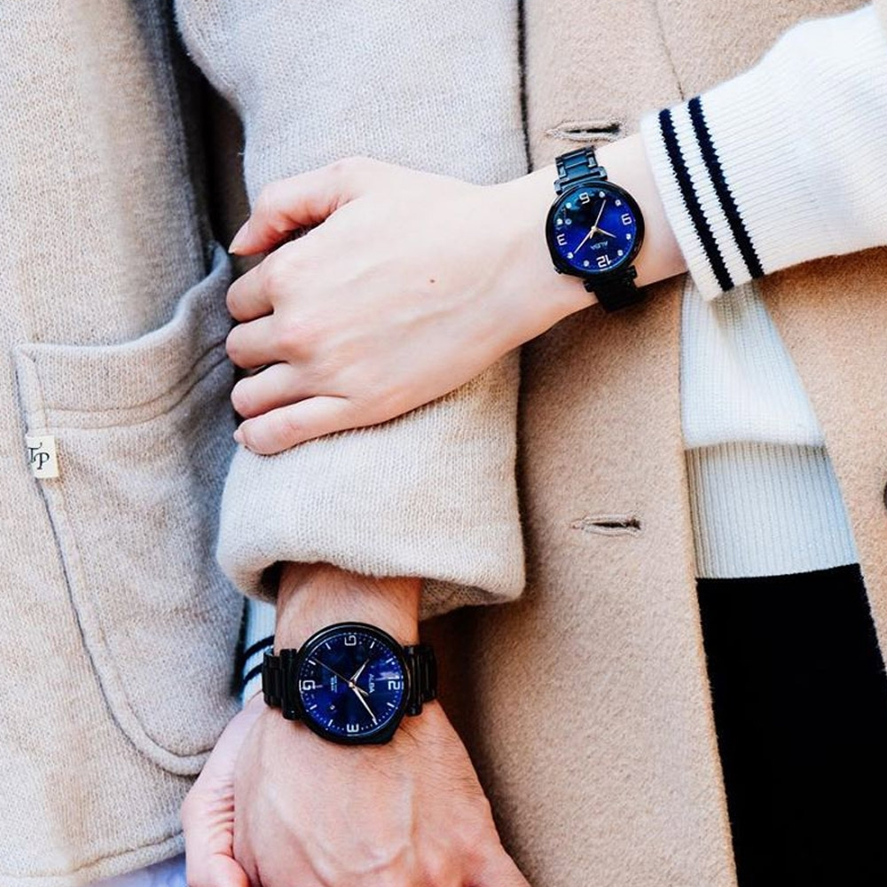 ALBA 東京愛情故事限量對錶(AS9H47X1+AG8J77X1)