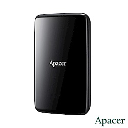 Apacer宇瞻 AC233 1TB USB3.1 2.5吋外接硬碟(暗夜黑)