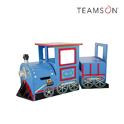 Teamson 火車造型多功能收納桌椅組