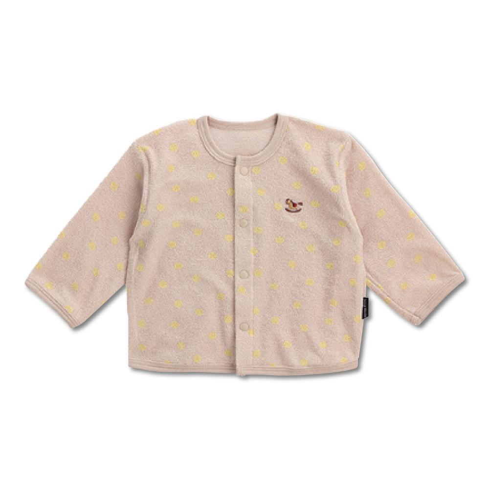 日本雜誌款-日製毛巾布小外套-點點-條紋 product image 1