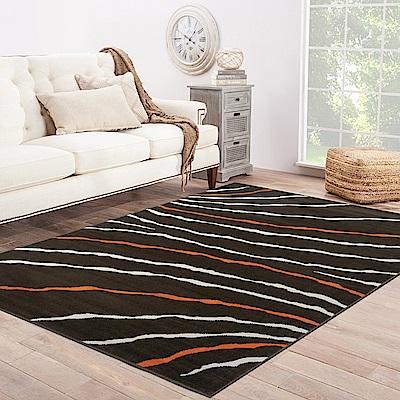 Ambience 比利時Shiraz 時尚地毯-斜紋咖 160x230cm