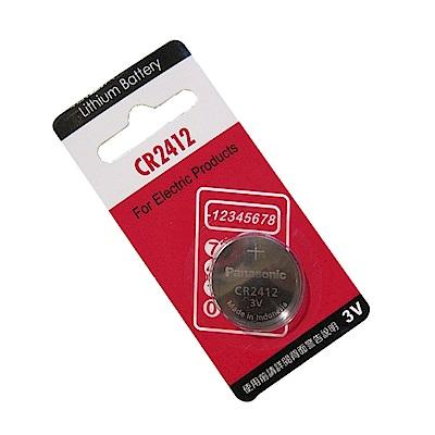 Panasonic 國際牌 CR2412 鈕扣型水銀電池(一組10入)