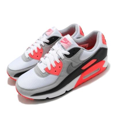 Nike 休閒鞋 Air Max III 運動 男女鞋 經典款 舒適 避震 簡約 情侶穿搭 白 橘紅 CT1685100