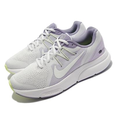 Nike 慢跑鞋 Zoom Span 3 運動 女鞋 氣墊 避震 透氣網布 路跑 健身 紫 白 DM7231-511
