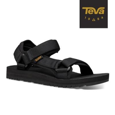 TEVA 原廠貨 男 Universal Trail 多功能經典運動涼鞋/雨鞋/水鞋-黑色