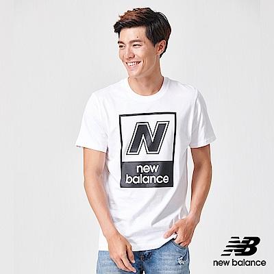 New Balance N字Logo短袖T恤_AMT91583WT_男性_白色