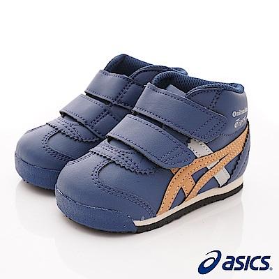 亞瑟士Onitsuka TIGER機能鞋 護踝穩定款400深藍(寶寶段)