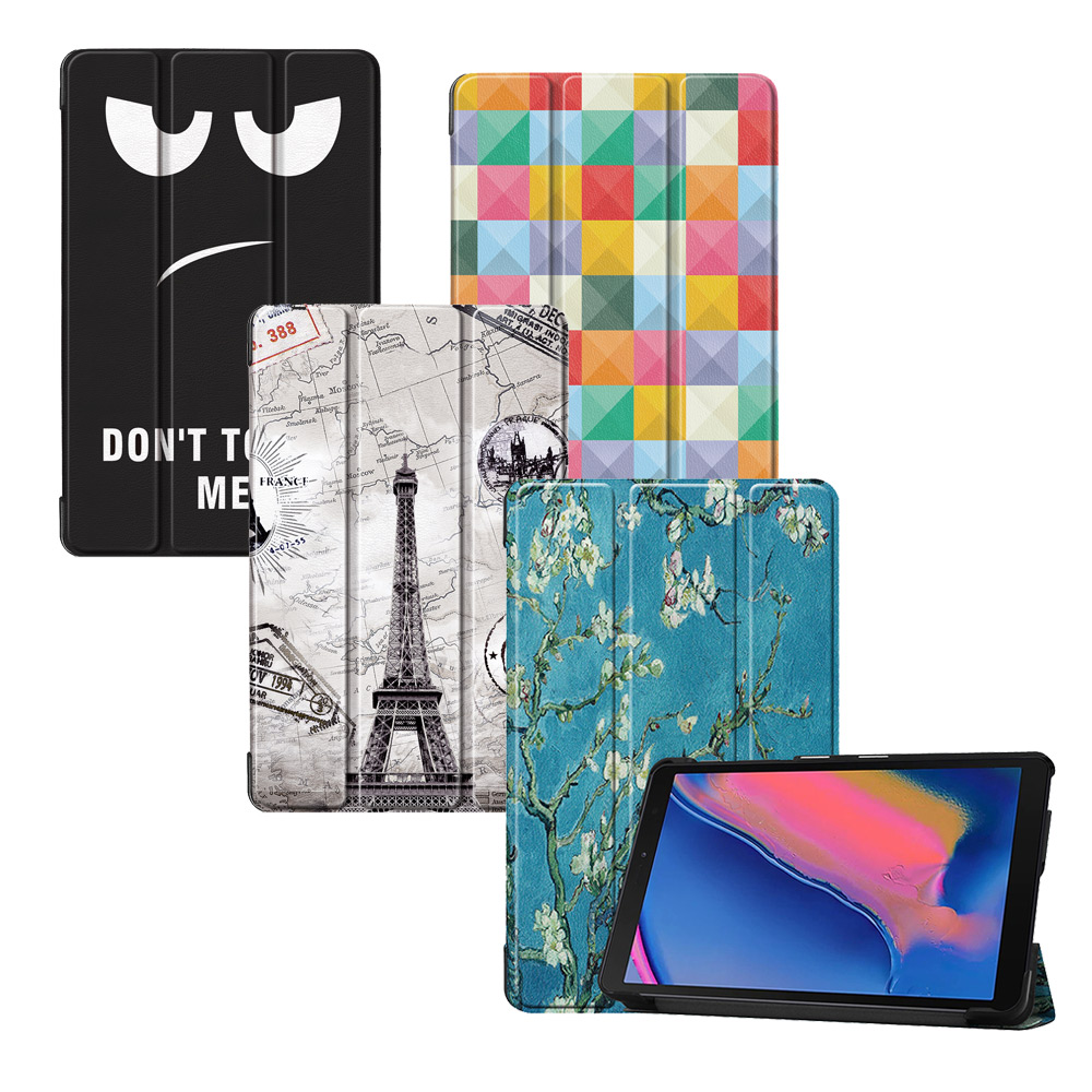 VXTRA 三星 Galaxy Tab A 8.0吋 2019 文創彩繪平板皮套
