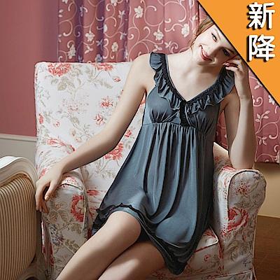 華歌爾睡衣-性感 M-L 細帶裙裝(奢華綠)性感系列