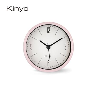 KINYO北歐粉彩鬧鐘(粉)ACK7103PI