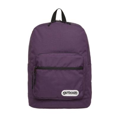 【OUTDOOR】極簡生活3.0-14吋後背包-紫色 OD181131PL