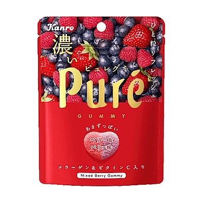 甘樂Kanro Pure鮮果實軟糖-濃厚莓果(52g)