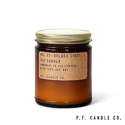 美國 P.F. Candles CO. No.21 黃金海岸 手工香氛蠟燭 204g
