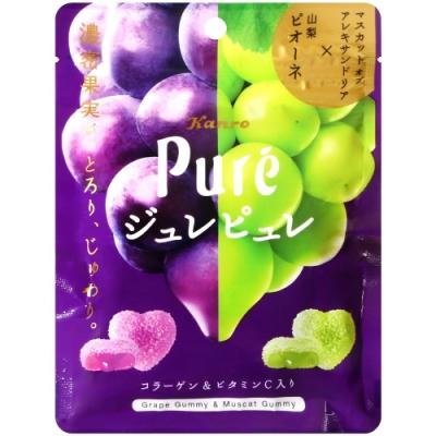 KANRO Pure雙色葡萄軟糖(63g)