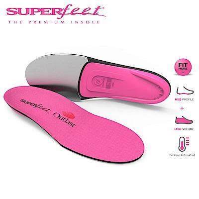【美國SUPERfeet】保暖型健康超級足弓鞋墊(粉紅色)