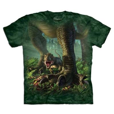 摩達客-自然純棉系列  小雷克斯龍 T恤