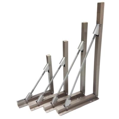AC025 2入裝 可調式三角架-50CM 支撐架 多孔式L型掛架 托架