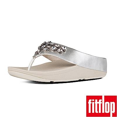 FitFlop TIARARAMA夾腳涼鞋銀色