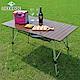 LIFECODE 爵士無限段鋁合金蛋捲桌/折疊桌(120x70cm) product thumbnail 2