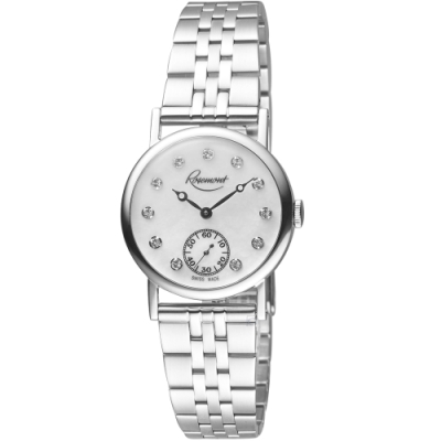 玫瑰錶Rosemont璀璨復刻手錶(BR-01-Wh-mt)-白