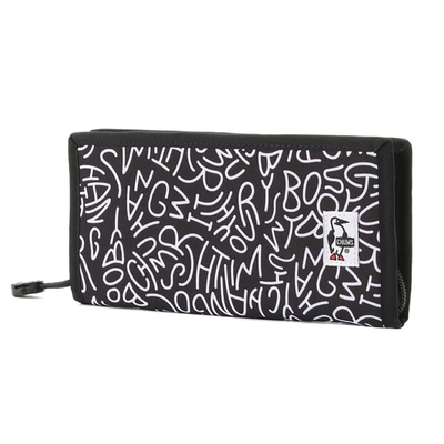 CHUMS Recycle Billfold Wallet 男女 零錢包 HWYC Booby 黑-CH603140Z189