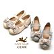 天使童鞋-奈麗絲公主鞋(中-大童)J960-灰、米