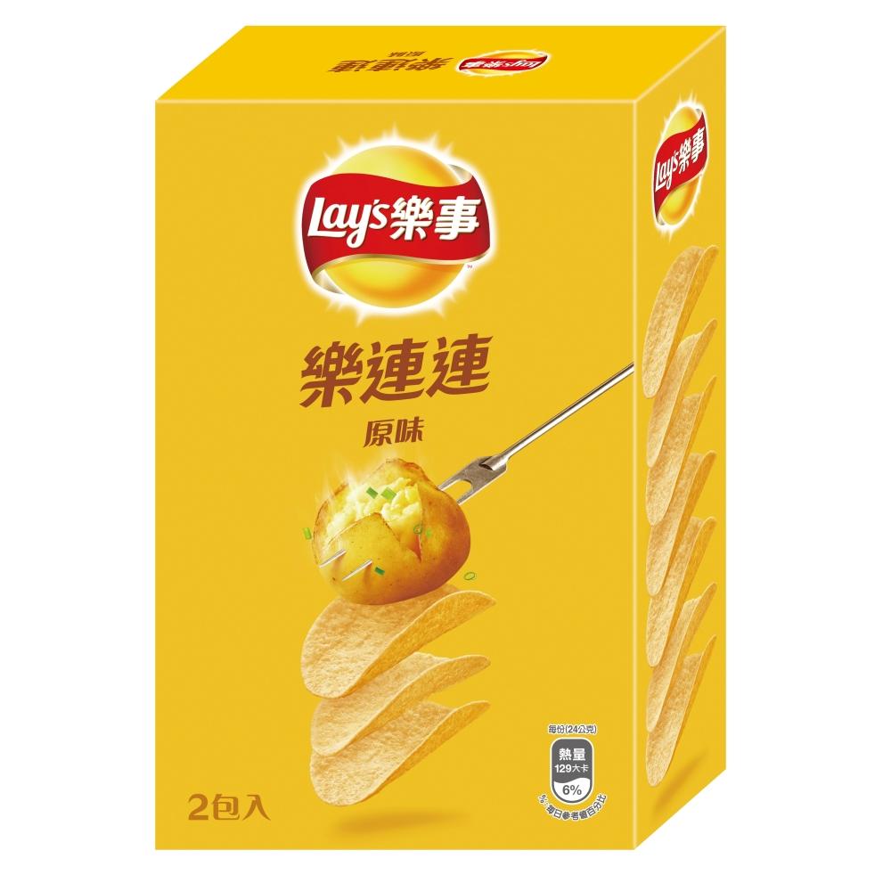 樂事 新經濟包原味洋芋片(96g)