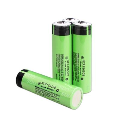 日本松下 NCR18650B 3350mAh 凸點/凸頭 認證版充電鋰電池(2入)無保護板