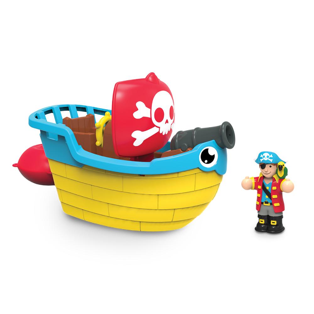 【WOW Toys 驚奇玩具】 洗澡玩具 - 海盜船皮普